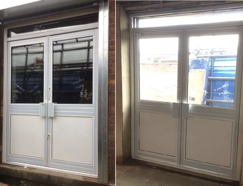 Aluminium Double Doors Installation in Bexleyheath, Kent