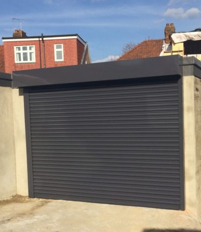 Electric Garage Roller Shutter