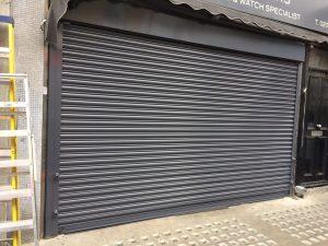 Solid Roller Shutter in London