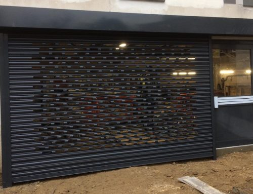 Punch Hole Roller Shutters Installation in Kingston Upon Thames, Greater London