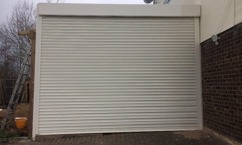 Electric Roller Shutter Installation