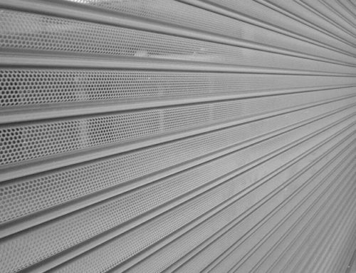 High-performance Perforated Roller Shutters