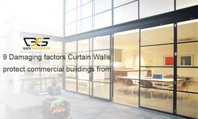 Curtain Walling Installation