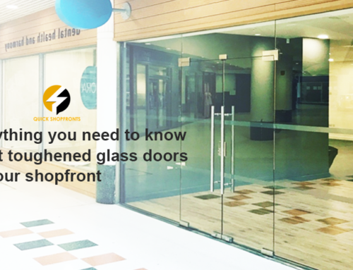 Everything You Need to Know About Toughened Glass Doors for Your Shopfront