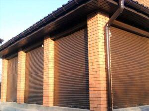 Electric Shutter Garage Doors